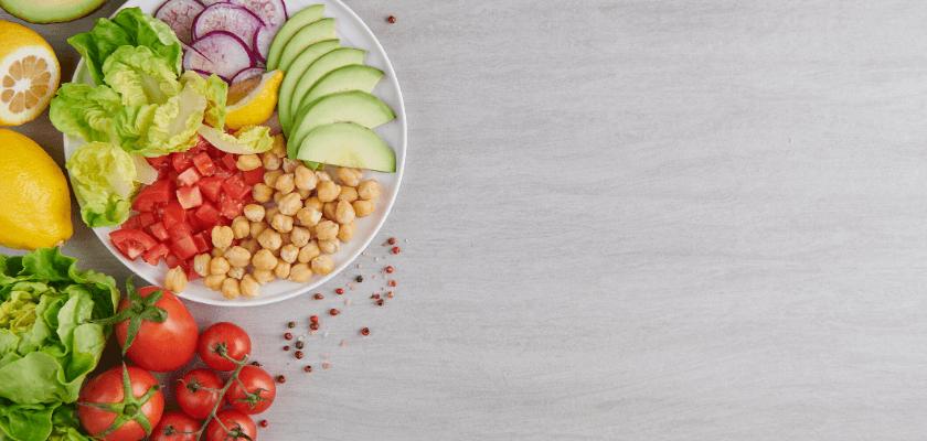 Csicseriborsó saláta a Springday ajánlásával