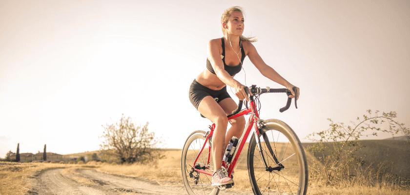 Kerékpáros edzés szárazföldön